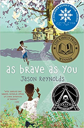 cover image of as brave as you