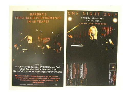 Barbra Streisand Poster Live Performance Barbara