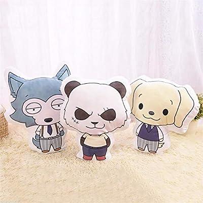 MEIBRI Anime Beastars Animal Stuffed Cute Doll Pillow Cushion Body Legoshi 34cm41cm: Home & Kitchen