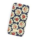 Kidston iPhone 4 S Case Cover -Flora Blue