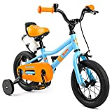 Retrospec Koda Kids Bike with Training Wheels, 12'' 1.5-4yrs, Blippi