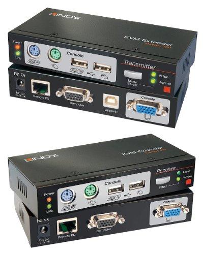 Usa Kvm Extender - LINDY-USA Cat. 5 KVM Extender Combo 300, PS/2, USB & VGA