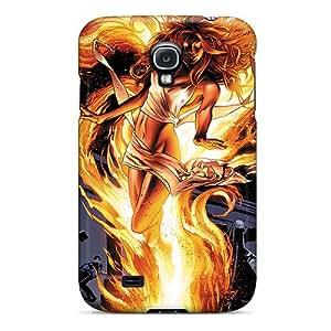 DiamondCase OrkXvLiX3191 Case Cover Galaxy S4 Protective Case Jean Grey I4