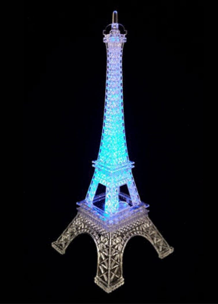 Eiffel Tower Centerpiece with.