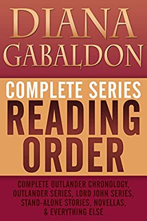 List of diana gabaldon books in order