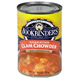 Bookbinders Manhattan Clam Chowder, 10.5-Ounce Cans (Pack of 12) by Bookbinder's