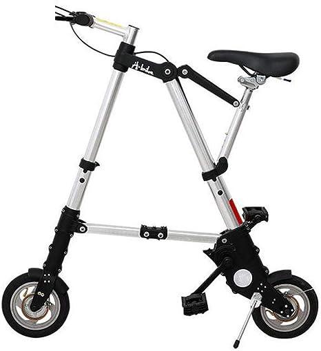 WYFDM Bicicletas, Bicicleta Plegable de 8/10 Pulgadas Aleación de Aluminio Ultra-Ligera Mini Bicicleta Plegable Compras Metro Metro Portátil de Bolsillo Unisex Ciclismo,C,10inch: Amazon.es: Deportes y aire libre