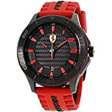 Ferrari Men's 830136 Scuderia XX Watch with Red Band