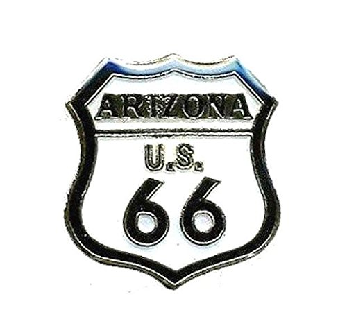 (Route 66 Arizona Lapel Pin Hat Tie Tac Brass CHN)