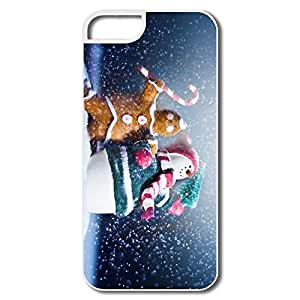 Cute Slim Case Merry Christmas Happy New IPhone 5/5s Case For Birthday Gift wangjiang maoyi