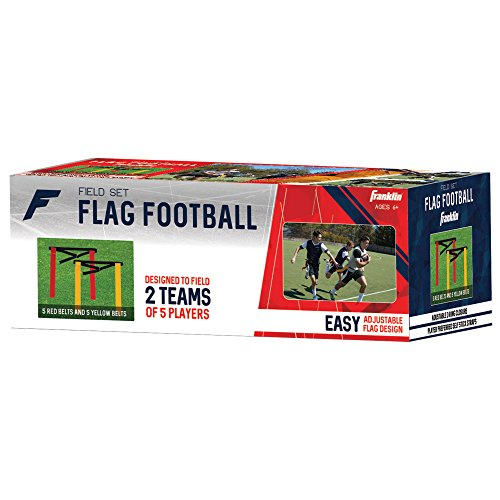Franklin Sports Field Master Flag Football Set