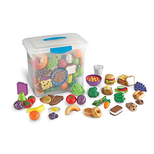Learning Resources LER9723 New Sprouts Classroom Play Food (Classroom Play Food Set)