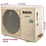 Sanyo 1.5 Ton 5 Star Inverter Window AC