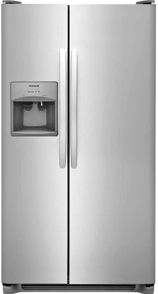 FRIGIDAIRE, Stainless Steel FFSS2315TS 33 Inch Side Refrigerator