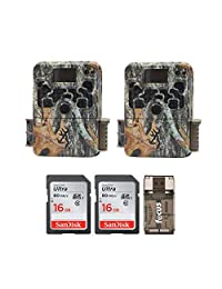 Browning Trail Cameras Strike Force Extreme 16 MP Game Camera Kits with 16GB SD Card and Focus USB Reader