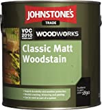 0.75LTR - JOHNSTONE'S WOODWORKS MATT WOODSTAIN WALNUT by Johnstone's