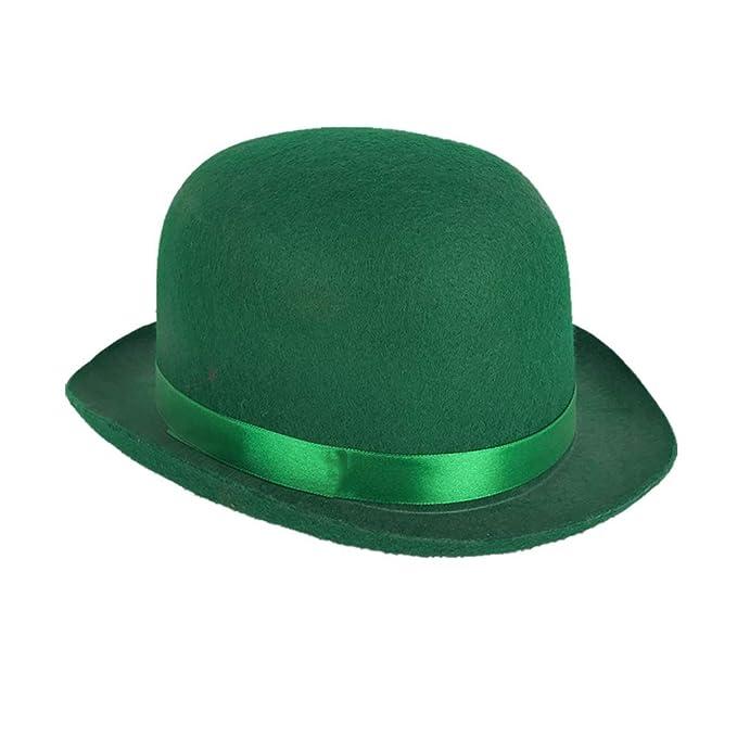 BESTOYARD Cappello da Festa di San Patrizio Cappello da Arredo Festival  Irlandese Semplice Cappellino Divertente per 2da4a3d2e020