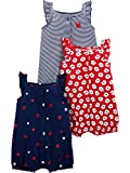 Simple Joys by Carter's Girls' 3-Pack Snap-up
