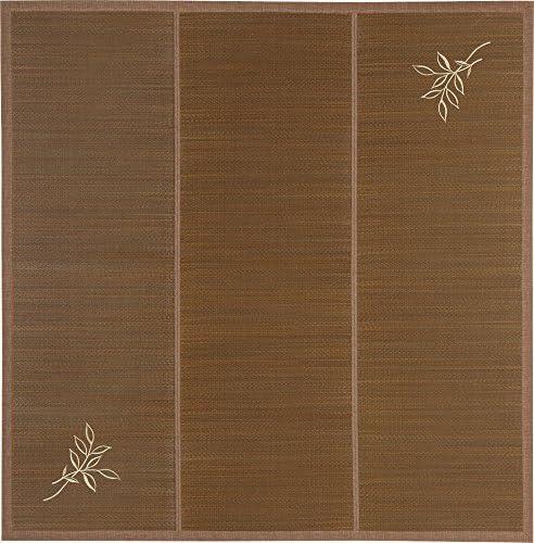 い草ラグ カーペット ハーベスト 2畳用(191x191cm)カラー:ブラウン系