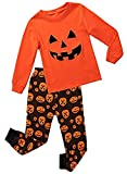 Best Bracelets 2 Piece For Boys - Babyroom boys Cotton 2 piece Long Sleeve Halloween Review