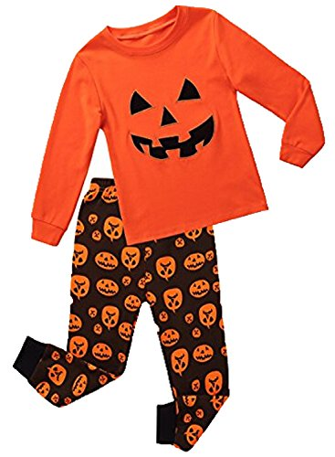 Babyroom Babyroomboys Cotton 2 piece Long Sleeve Halloween pajamas Set Size 3T