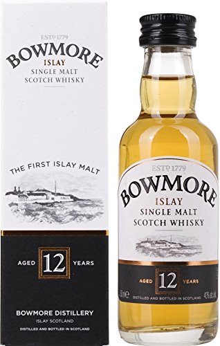 Bowmore 12 Years Old mit Geschenkverpackung  Whisky (1 x 0.05 l)