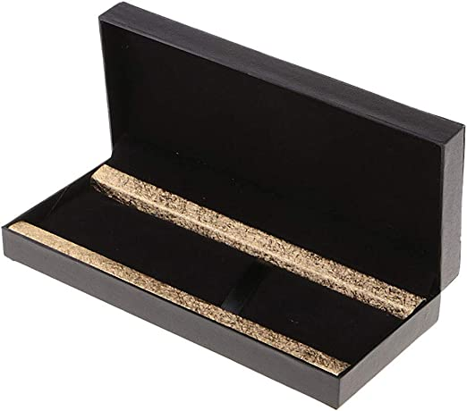 Caja de joyería con Styler Caja para Colgante de Cuero Colgante Collar PU - oro: Amazon.es: Hogar