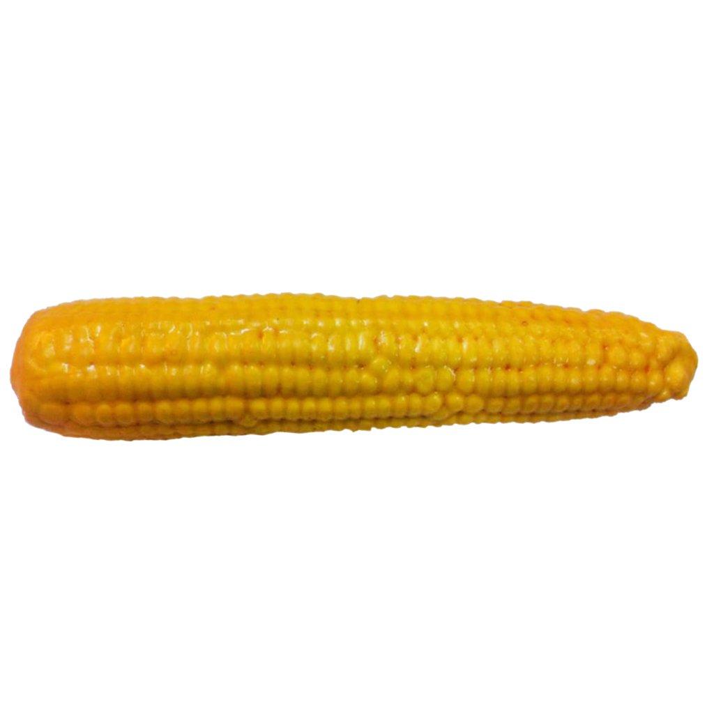 PETSOLA Mais Dekogem/üse Kunstgem/üse Gem/üse K/ünstliche Corn Dekoration 23cm
