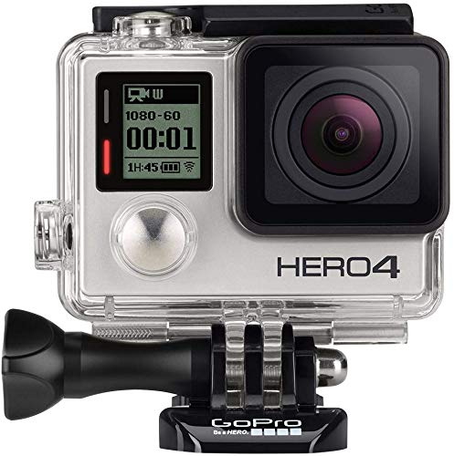 GoPro HERO4 Silver Edition Action Camcorder (Renewed) (Best Editing App For Gopro Videos)