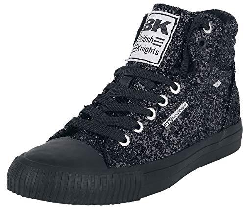 B38 Sneaker Black British Dee Noir Knights Damen Gold Bk Snake 06 3767 qttr7