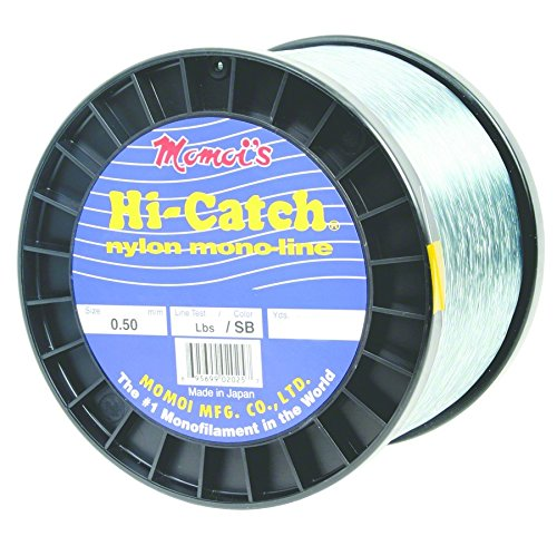 Momoi's Hi-Catch Nylon Monofilament 2 Pound Spool 130lb. 760yd. Blue by Momoi