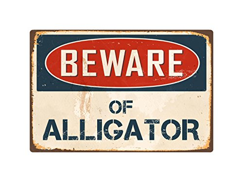 StickerPirate Beware of Alligator 8