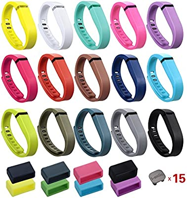 PINK Replacement Band Only No Tracker No Clasp Fitbit Flex Band Large NEW