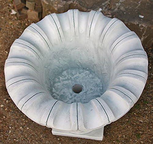 zum bepflanzen aus Steinguss 55 cm hoch Amphore