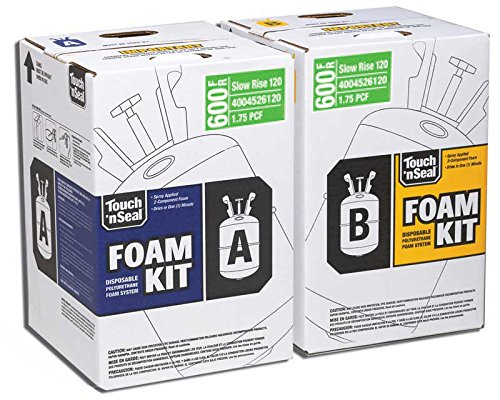 two-component-class-i-fire-retardant-slow-rise-polyurethane-spray-foam-insulation-kit-600-board-feet