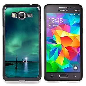SKCASE Center / Funda Carcasa protectora - Aurora Borealis Faro;;;;;;;; - Samsung Galaxy Grand Prime G530H / DS
