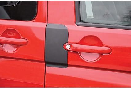 RGM DPP300 - Juego de Protectores de Puerta para Volkswagen Transporter T5 2003-2015 y T6 2015, Color Negro: Amazon.es: Coche y moto