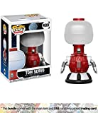 crow robot - Tom Servo: Funko POP! TV x Mystery Science Theater 3000 Vinyl Figure + 1 American TV Themed Trading Card Bundle (14231)