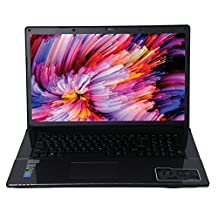 "HoMei Quad Core 17.3"" 1080P Full HD Gaming Laptop 256GB SSD, 12GB RAM, 1TB HDD, Intel Core i7-4710MQ, NVIDIA GeForce GTX 950M, Bluetooth, HDMI, DVDRW, Camera, Backlit Keyboard"