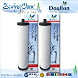 Doulton Water Filter 2 Pack - Franke Triflow Compatible Filter Cartridges By Doulton M15 Ultracarb (NO Import Duty or Taxes to pay on this product)