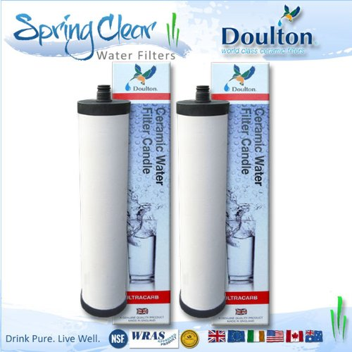 2 Drive off - Franke Triflow Compatible Filter Cartridges By Doulton M15 Ultracarb (NO Import Duty or Taxes to pay on this product)