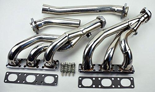 BMW E46 E39 Z3 2.5L 2.8L 3.0L L6 4PC Performance Exhaust Manifold Headers