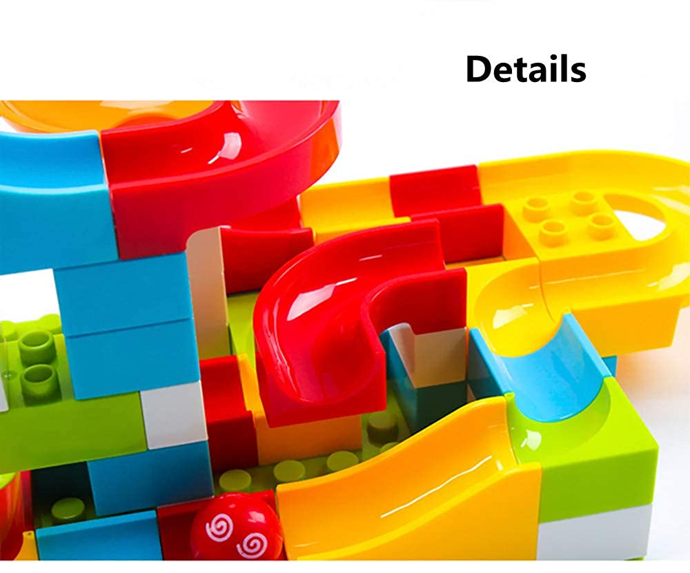 108 PCS Crazy Ball Marble Run Building Blocks Toys Set