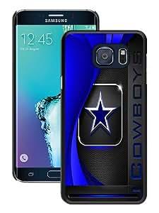 High Quality Samsung Galaxy S6 Edge+ Skin Case ,Dallas Cowboys 2 Black Samsung Galaxy S6 Edge Plus Screen Cover Case Popular And Unique Custom Designed Phone Case
