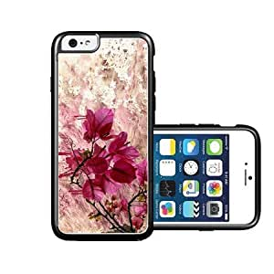 RCGrafix Brand Flowers pink colors iPhone 6 Case - Fits NEW Apple iPhone 6