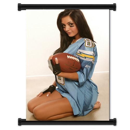 Misa Campo Sexy Model Fabric Wall Scroll Poster (16
