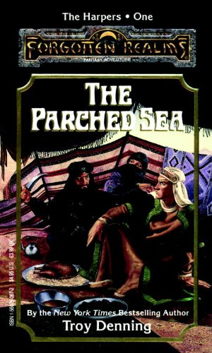 book cover of The Parched Sea