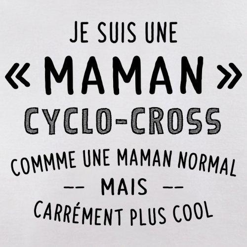 une maman normal cyclocross - Femme T-Shirt - Blanc - L
