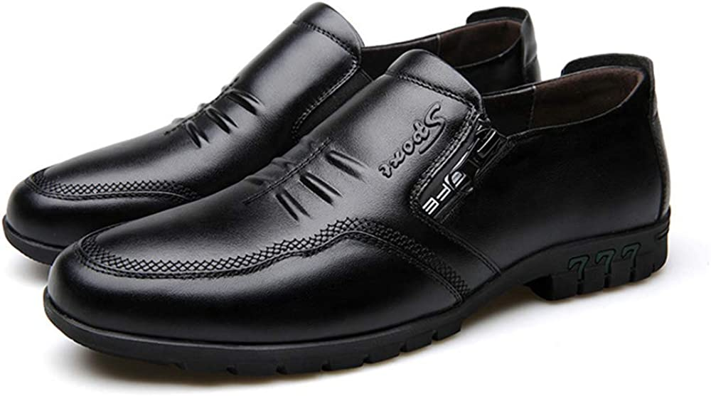 Men Shoes Fashion England Men Leather Shoes Formal Shoes Loafers Oxford Shoes Plus Size