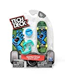 Tech Deck Santa Cruz Skateboards Series 6 Hand with Mouth Fingerboard - Starter Board with Trainer Clips